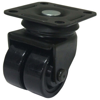 550S Swivel Caster, Nylon, With Ball B, Wheel, for Low-Floor Medium Weight Loads