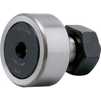 Cam follower CF-AB-type (cylindrical outer ring, with a cage, without the seal)