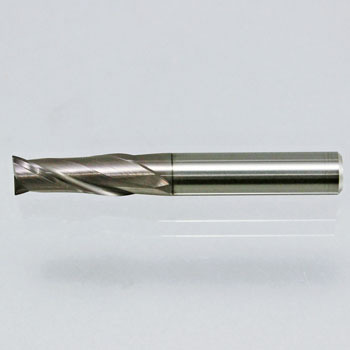 Infinite coating 2-edged end mill