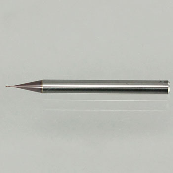 Unlimited coating for deep ribbing end mill (long neck end mill) (double-bladed)