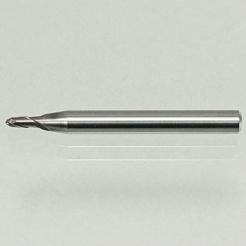 Two infinite coating 2-edged ball end mill