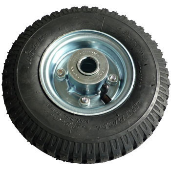 Pneumatic Tire, with Tire, Tube and Hubless Wheel
