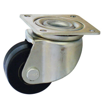 Heavy Load Caster, Rubber Wheels