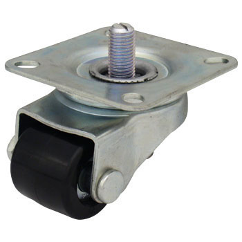 AF Type Swivel Caster, Reinforced Nylon Wheel, With An Adjuster Foot
