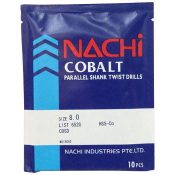 STRAIGHT COBALT DRILLSl I type