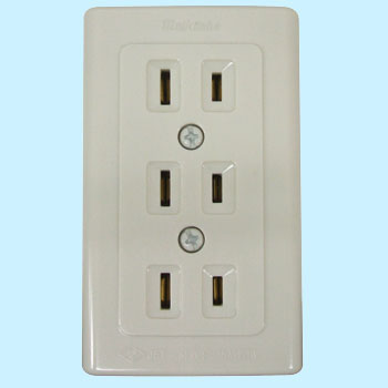 Thin-Shaped Electrical Outlet