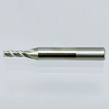 Super hard end mill, 4 blades