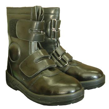 Safety Half Boot, Hook Loop