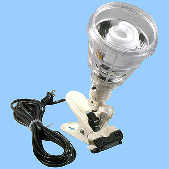 Portable work light, Fluorescent