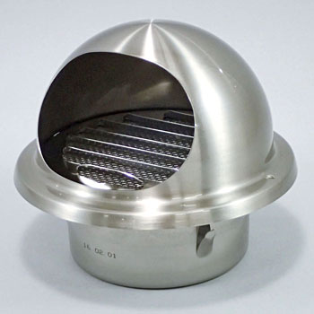 Stainless Steel W/Round Hood Vent Window