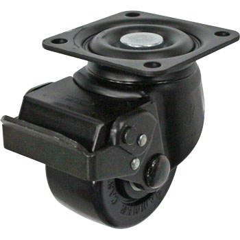 545S Swivel Caster, Nylon Wheel, Ball B, Low-Floor Heavy Loads, Stopper