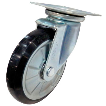 Gold Caster WJ Rubber Wheel B