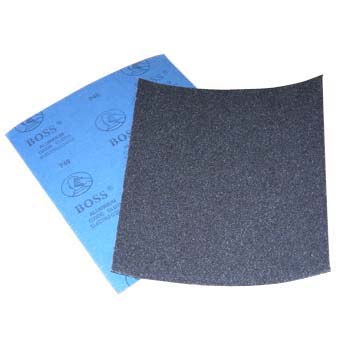 Sanding cloth sheet