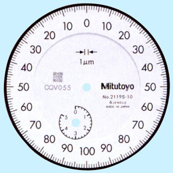 Normal Mode Dial Indicator, Scale Load 0.001Mm