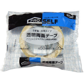 Transparent Double Sided Tape No.539R