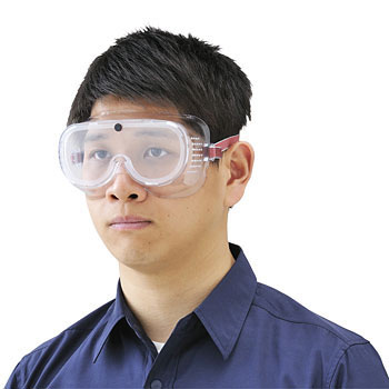 Safety Goggle Clear Uncoated Lens