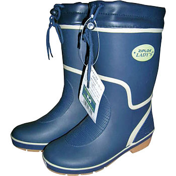 Women Rubber Boots Blue