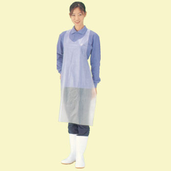 Poly Apron Natural, Disposable Type