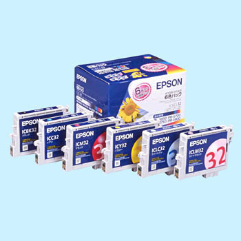 Ink Cartridge EPSON IC32, Genuine