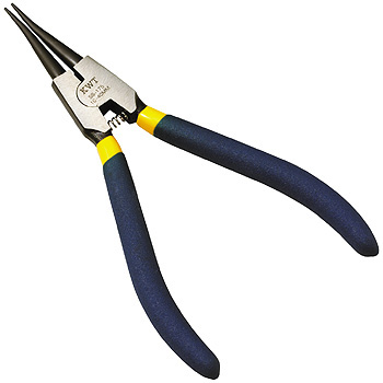 Pliers, with spring, external use