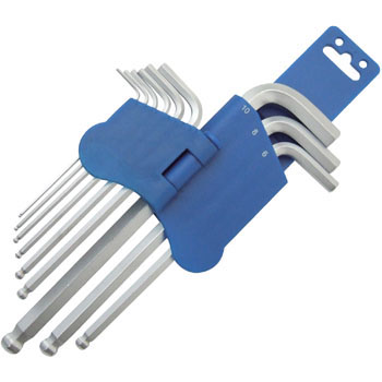 L Shape Ball Point Hex-Key Wrench Set