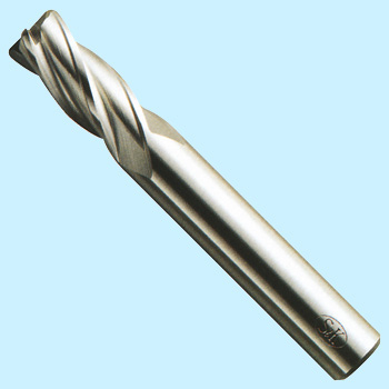 Radius 4-edge end mill