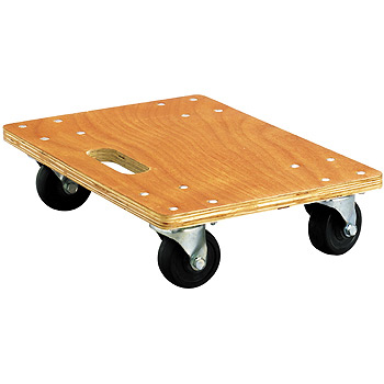 Wood Platform Cart (PP+PVC / Without Slip Resistance)