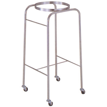 Stainless Steel Wash Basin Trolley