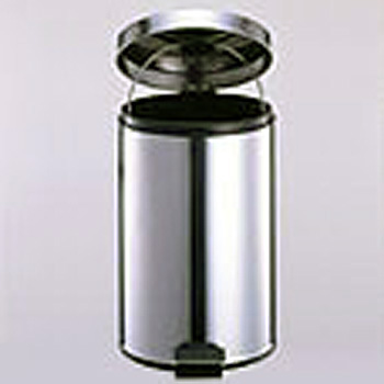 Step On Round Indoor Waste Receptacle