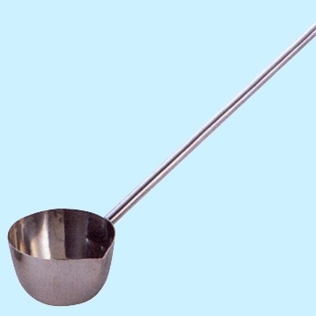 Molding Scoop With Attached Opening