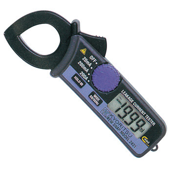 Q-snap AC leak clamp meter