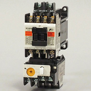 Direct-Current Operation Type Electromagnetic Switch, With No Case Cover