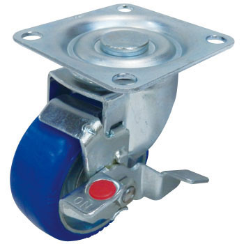 STM Swivel Caster, Urethane Wheel, With Stopper