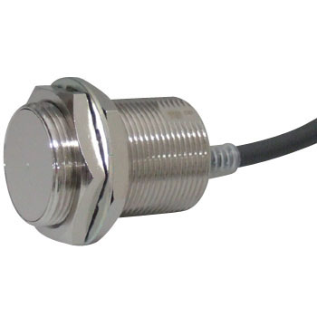 Cynlindrical Proximity Sensor, Direct Current 3 Line Type / Pull-Out Type CordE2E