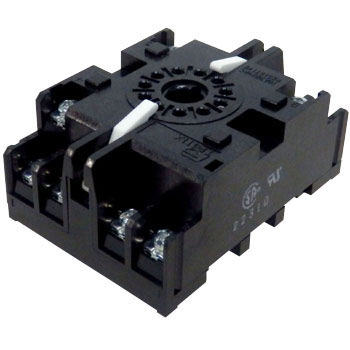 Socket for Rail Installation Screw Installation Common Shape Screw Wiring