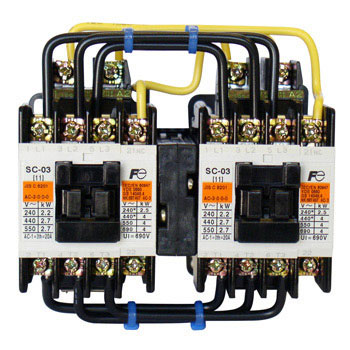 Reversible Form Electromagnetic Contactor, With No Case Cover