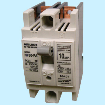 No Fuse Breaker Nf-Fa Series, For Control Consoles