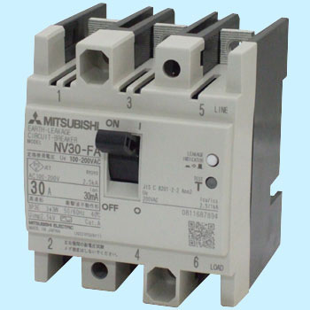 Earth Leakage Circuit Breakers for Control Panel