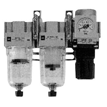 Air Filter, Mist Separator, Regulator Modular Type F.R.L. Unit