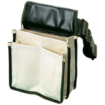 Perforation Paint Waist Bag with Belt