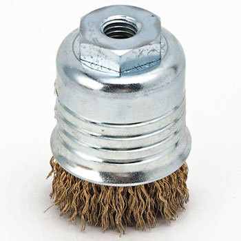 Thrust brush