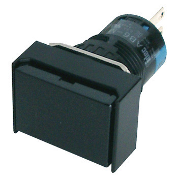 phi 16 A6 Series Push Button Switch, Long Rectangular And Non-Illuminated