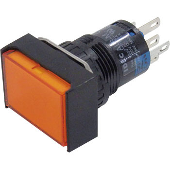 phi 16 A6 Series Illuminated Pushbutton Switch, Long Box