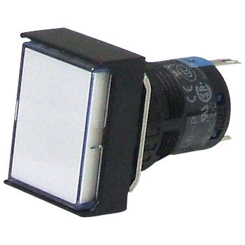 A6 Series Indicating Lamp phi16, 6H-P Shape Long Rectangularity