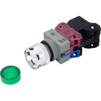 TW series Illuminated Pushbutton Switch Protrusion , Full Guard (LED) Momentary Type
