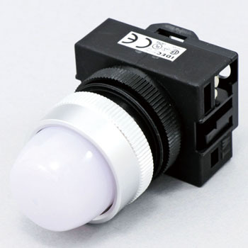 Tw Series Pilot Lights phi 22, Round LED