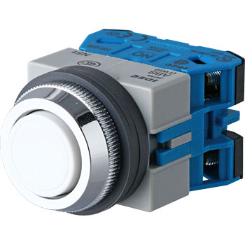 phi 25 Tws Series Push Button Switch, Flat