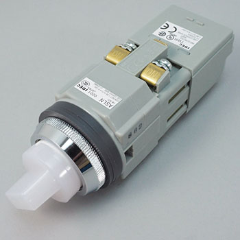phi 30 Series ASLN Illuminated Selector Switch, LED, 90deg2Notch