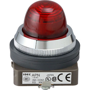 phi 30-Series Pilot Lights, Round 1-Watt Incandescent