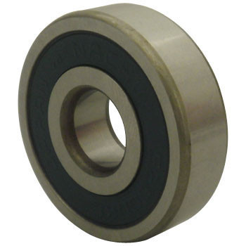 Single-Row Deep Groove Ball Bearing No. 6200 Stand 2Nke, Both-Sides Non-Contact Rubber Seal Type